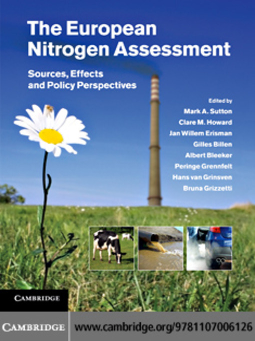 European Nitrogen Assessment