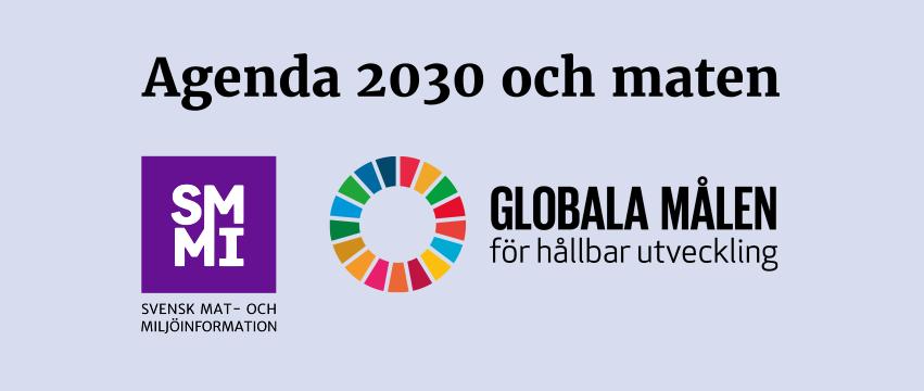 Workshop om Agenda 2030 och maten – anmäl dig gratis!